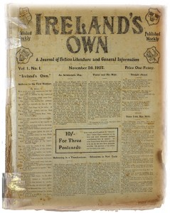 A picture of our first ever edition form 1902.