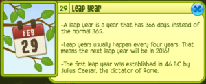 leapyears