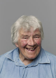 Dervla murphy - Photographed in Battersea, London. September 2014