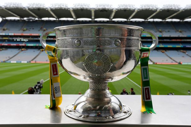The-Sam-Maguire-cup-at-in-Croke-Park