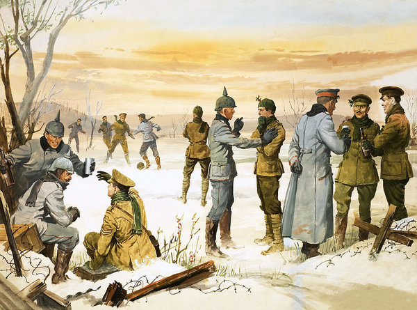 british-and-german-soldiers-hold-a-christmas-truce-during-the-great-war-angus-mcbride
